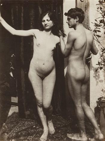 Boy girl nude Male student